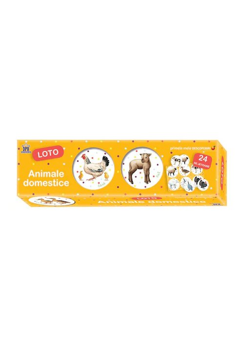 Primele mele descoperiri: Animale domestice - Loto