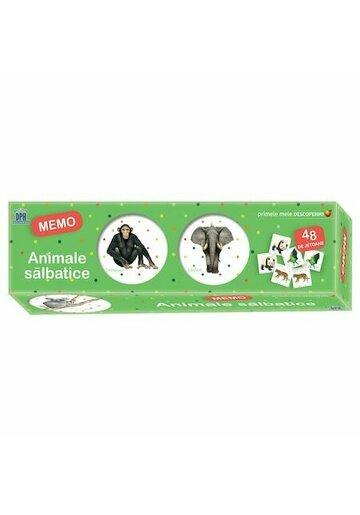 Primele mele descoperiri: Animale salbatice - Memo