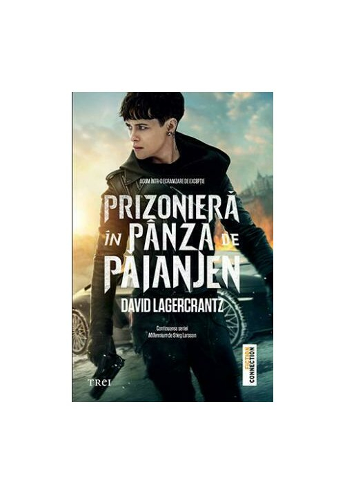 Prizoniera in panza de paianjen - Millennium 4 imagine librex.ro 2021