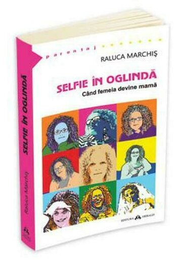 Selfie in oglinda. Cand femeia devine mama