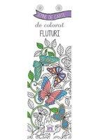 Semne de carte de colorat - Fluturi