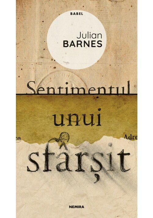 Sentimentul unui sfârșit (ed. 2020) imagine librex.ro 2021