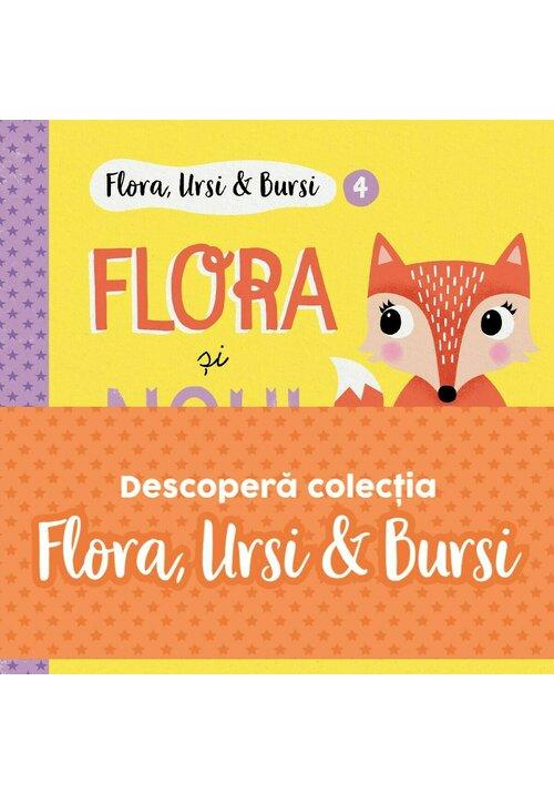 Seria Flora, Ursi & Bursi. Set 5 carti pentru copii