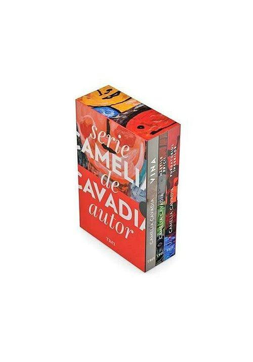 Serie de autor Camelia Cavadia (pachet 3 carti)