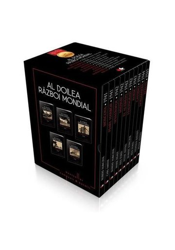 Set Al Doilea Razboi Mondial - Box cu 10 volume
