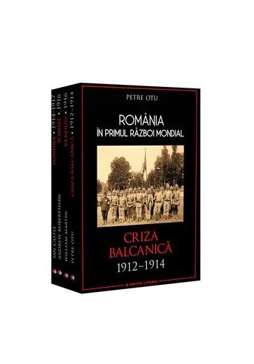 Set Romania in primul razboi mondial (4 carti)