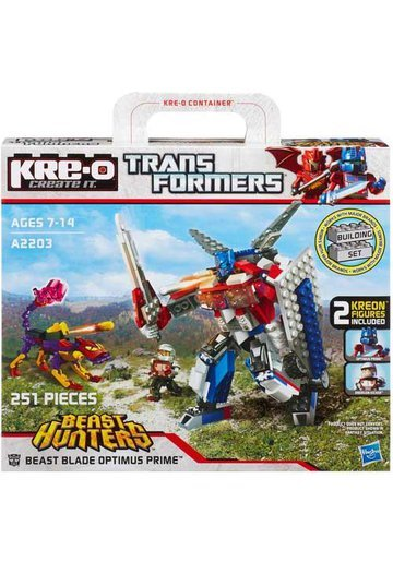 Set Transformers Beast Hunters Optimus Prime