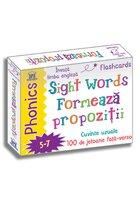 Sight words - Formeaza propozitii - Jetoane Limba Engleza