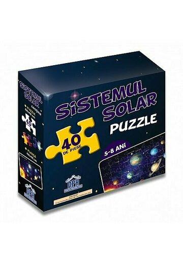 SISTEMUL SOLAR (puzzle 50/70 + afis 50/70)