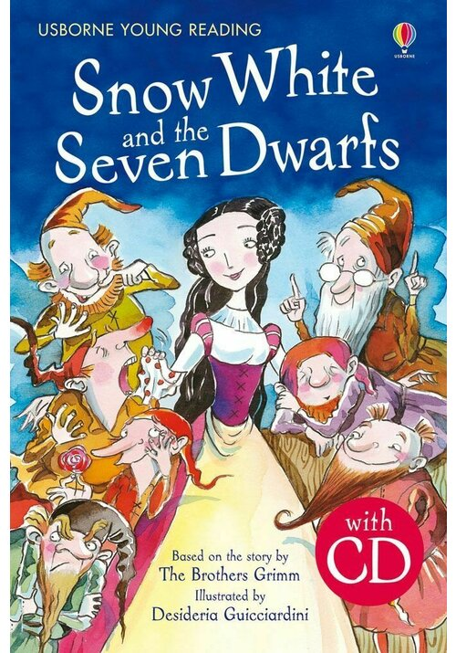 Snow White And The Seven Dwarfs + Cd imagine librex.ro 2021