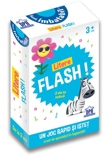 Sunt imbatabil: Litere flash!
