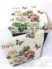 Taburet pliabil Flowers&Butterflies