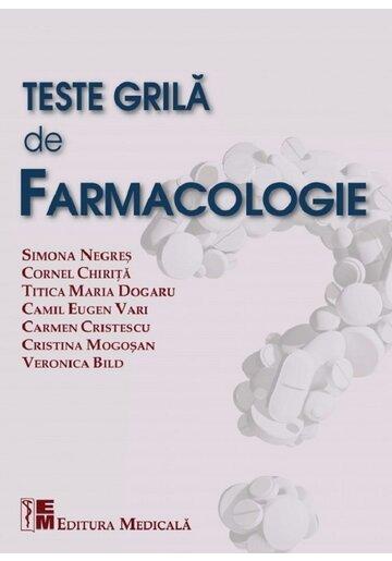 Teste grila de farmacologie