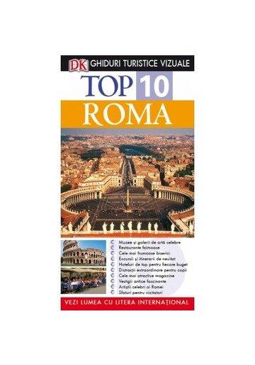 Top 10. Roma. Ghiduri turistice vizuale