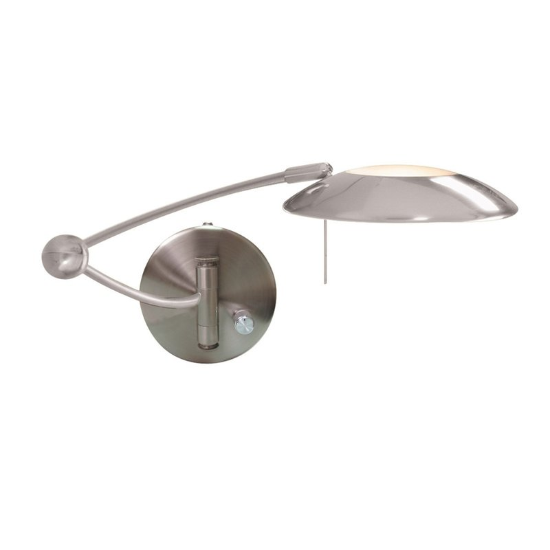 Aplica Searchlight Adjustable Wall Satin