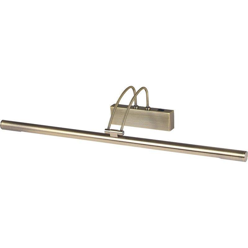 Aplica Searchlight Picture Lights Brass L