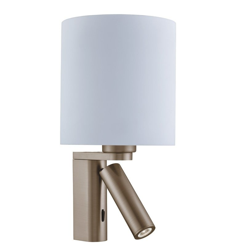 Aplica Searchlight Wall Light Brass Round