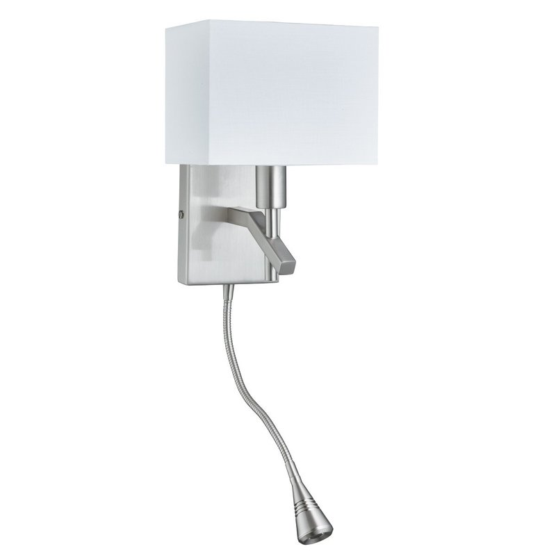 Aplica Searchlight Wall Light White