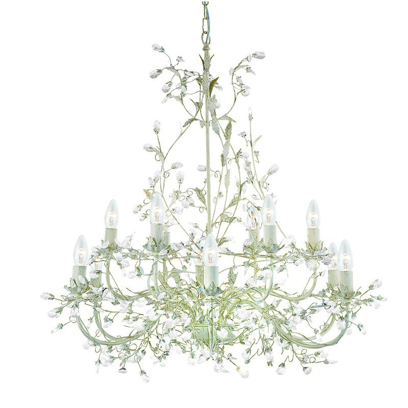 Candelabru Searchlight Almandite Cream XII