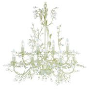 Candelabru Searchlight Almandite Cream VIII