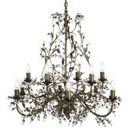 Candelabru Searchlight Almandite Gold XII