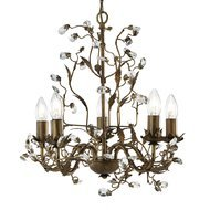 Candelabru Searchlight Almandite Gold V