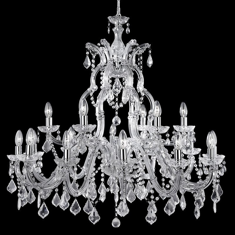 Candelabru Searchlight Marie Therese XL
