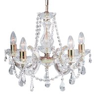 Candelabru Searchlight Marie Therese Gold S