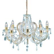 Candelabru Searchlight Marie Therese Gold M