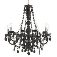 Candelabru Searchlight Marie Therese Grey