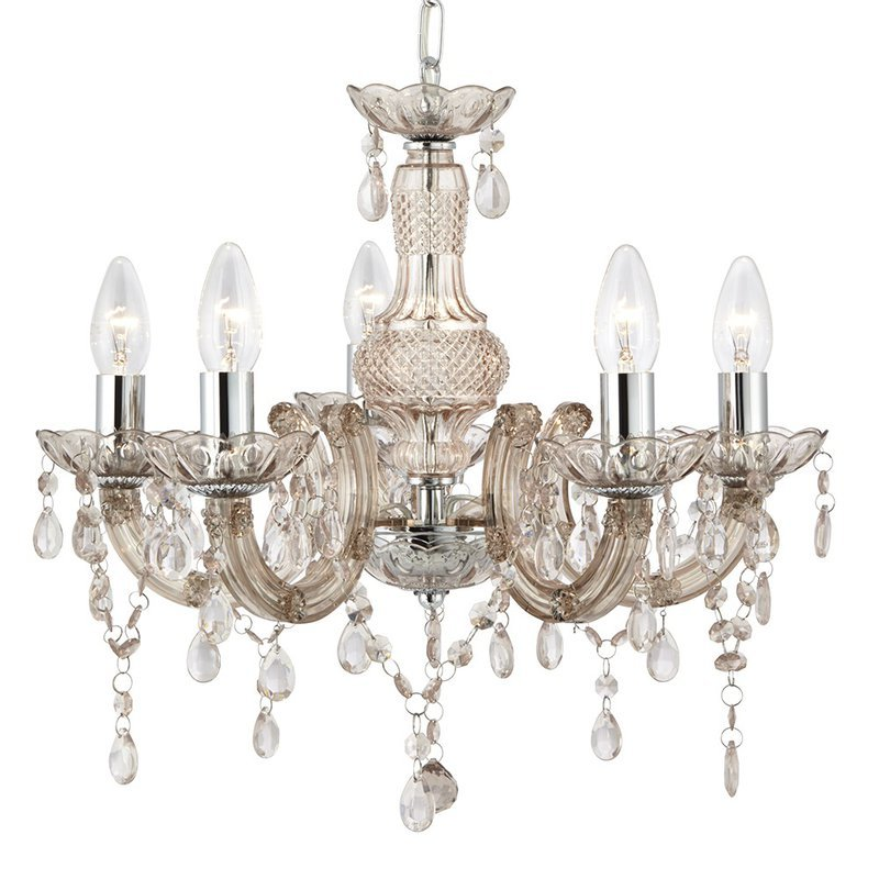 Candelabru Searchlight Marie Therese Mink