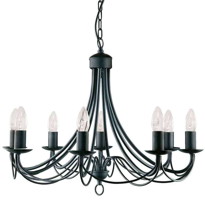 Candelabru Searchlight Maypole Black VIII