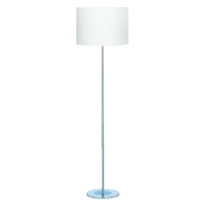 Lampadar Searchlight White Fabric