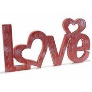 Litere decorative din lemn Red Heart