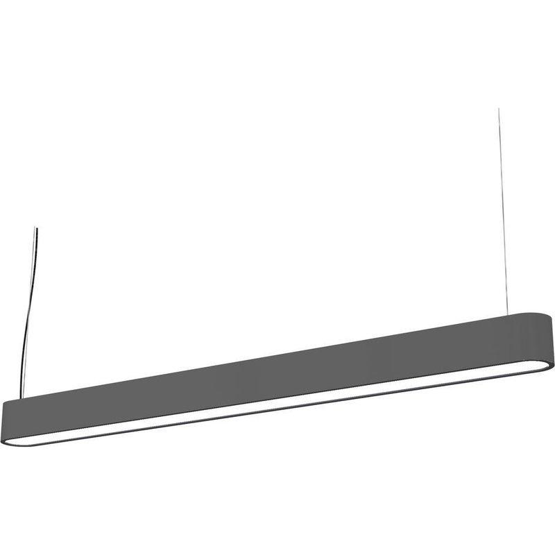 Lustra Nowodvorski Soft LED Graphite 90x6