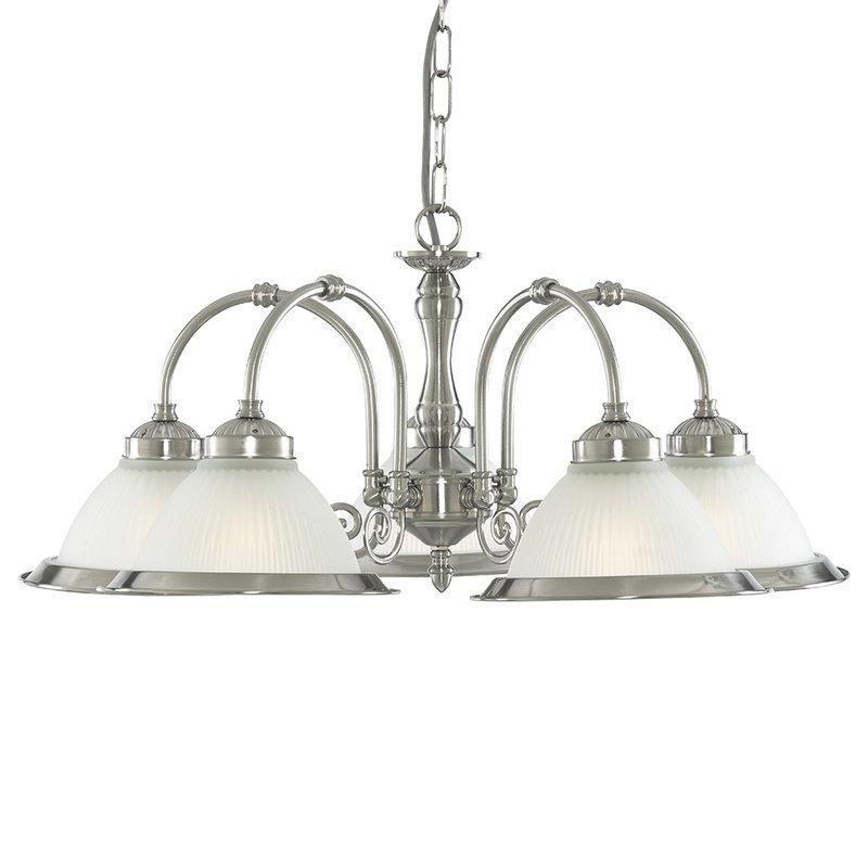 Lustra Searchlight America Diner Silver V