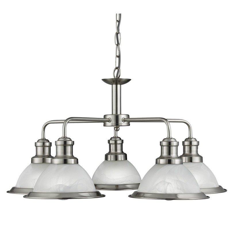 Lustra Searchlight Bistro Silver V