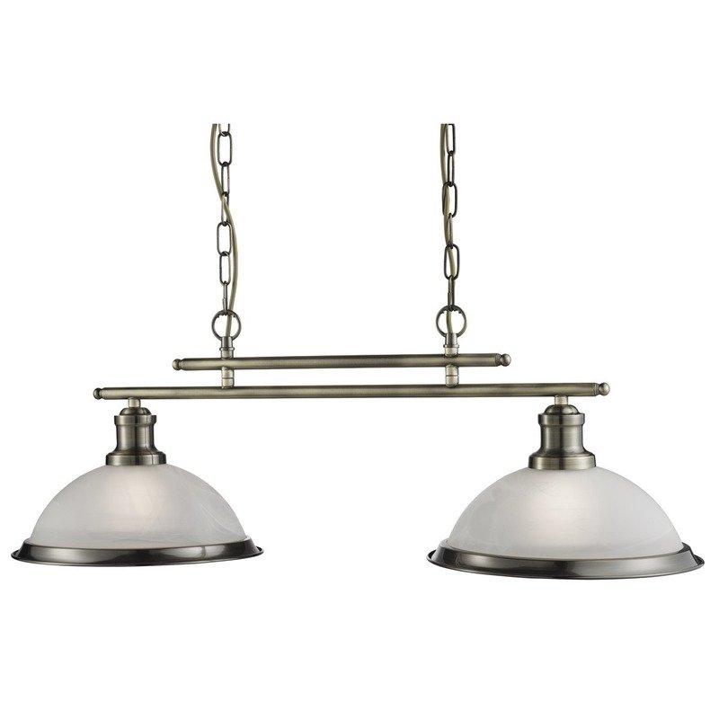 Pendul Searchlight Bistro Brass II