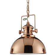 Pendul Searchlight Industrial Copper
