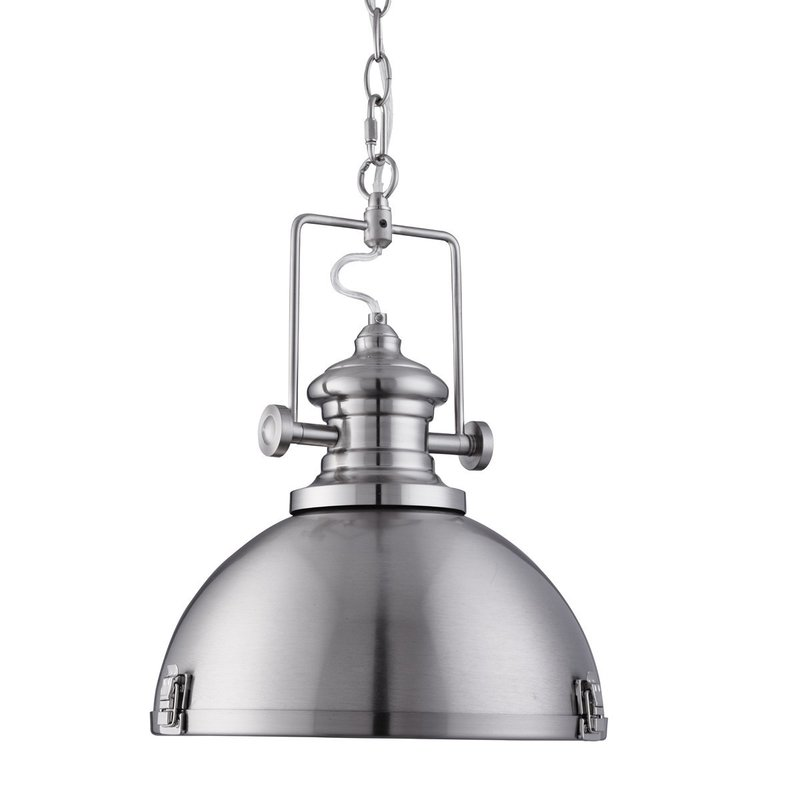 Pendul Searchlight Industrial Silver