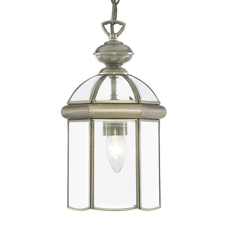 Pendul Searchlight Lanterns Antique Brass