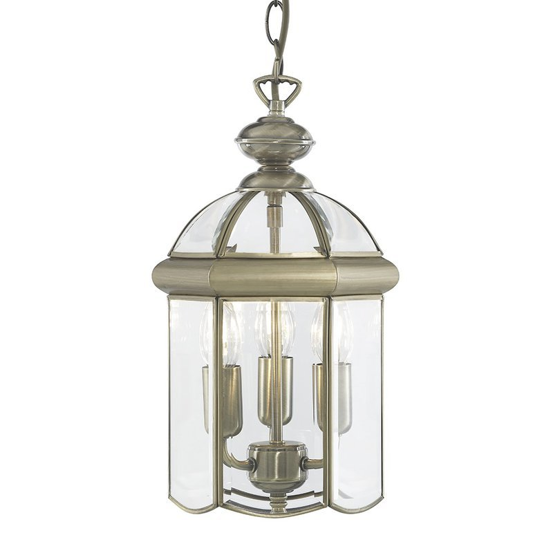 Pendul Searchlight Lanterns Antique Brass III