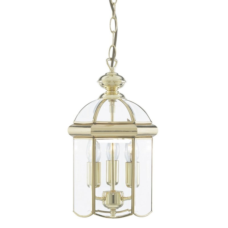 Pendul Searchlight Lanterns Brass