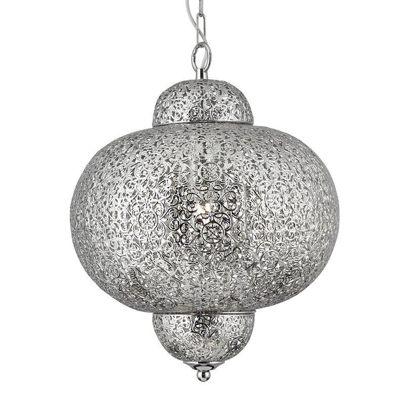 Pendul Searchlight Moroccan Shiny