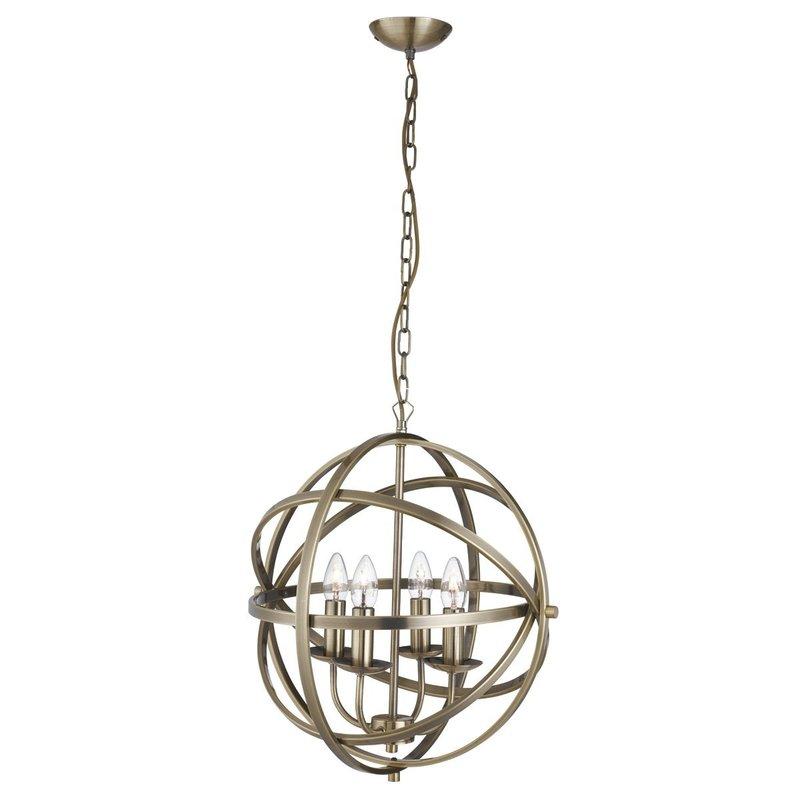 Pendul Searchlight Orbit Brass IV