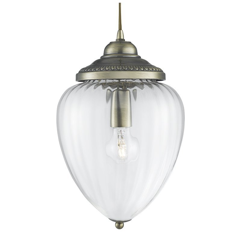 Pendul Searchlight Pendant Brass Optic