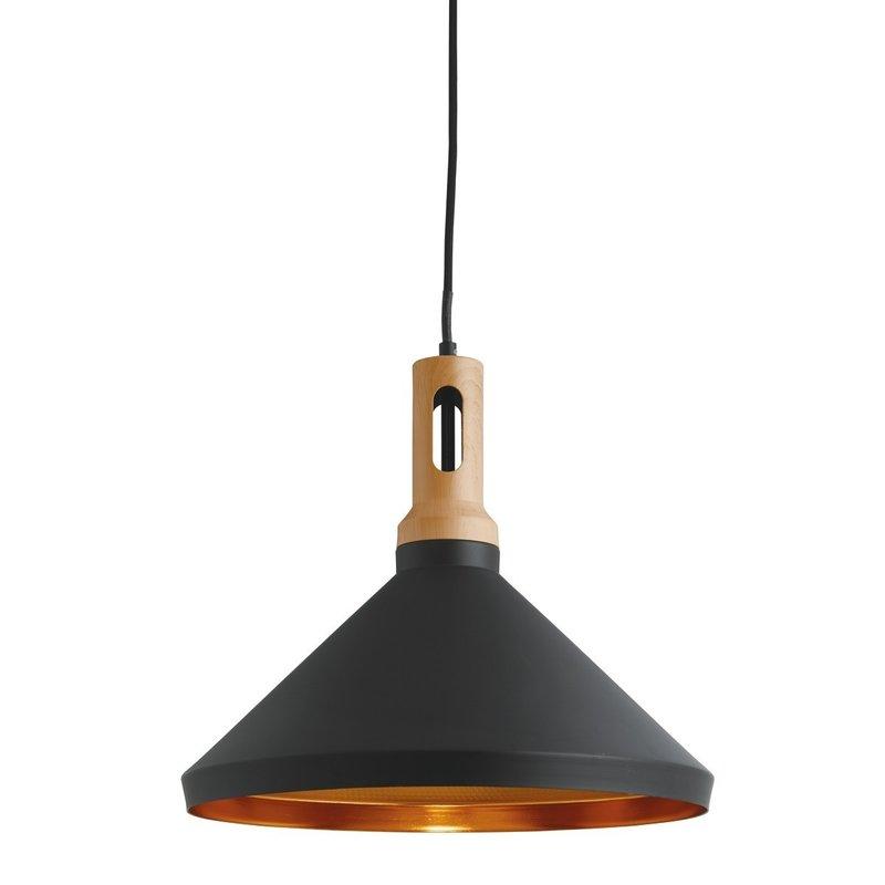 Pendul Searchlight Pendant Cone Black