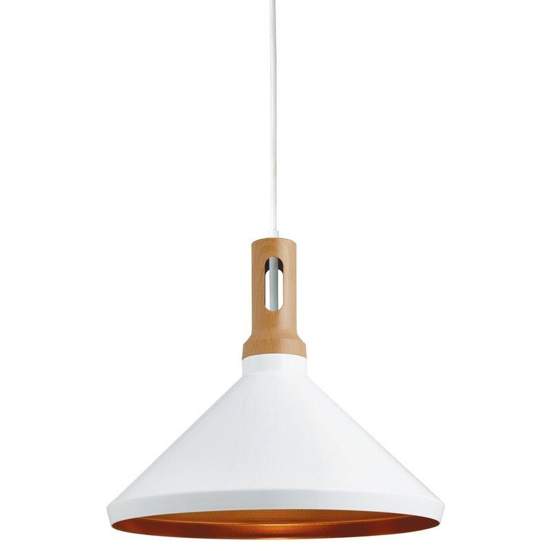 Pendul Searchlight Pendant Cone White