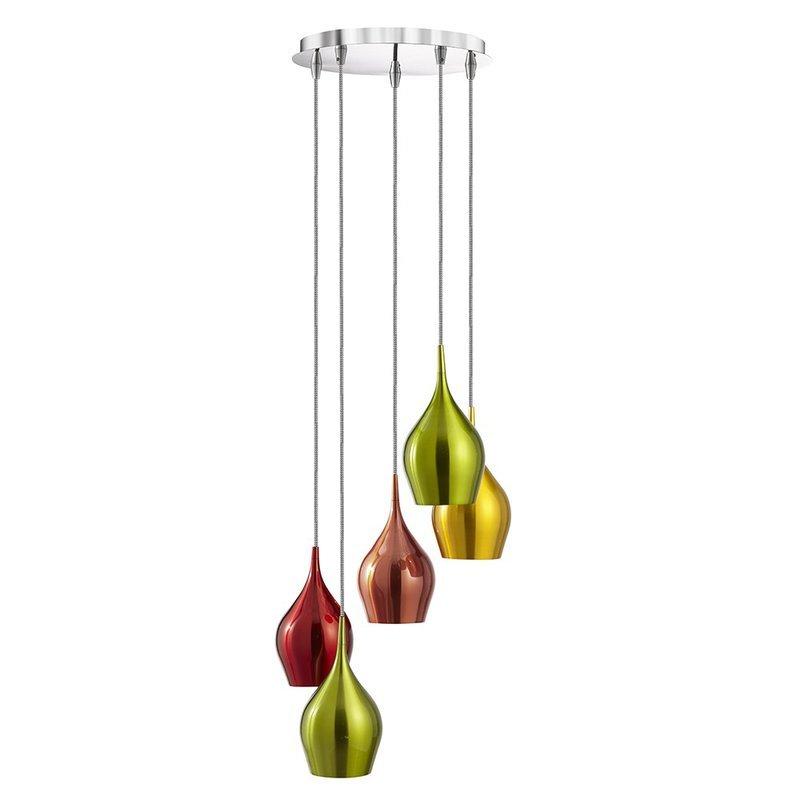Pendul Searchlight Vibrant Colors S