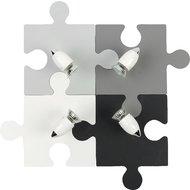 Plafoniera Nowodvorski Puzzle Multi Gray